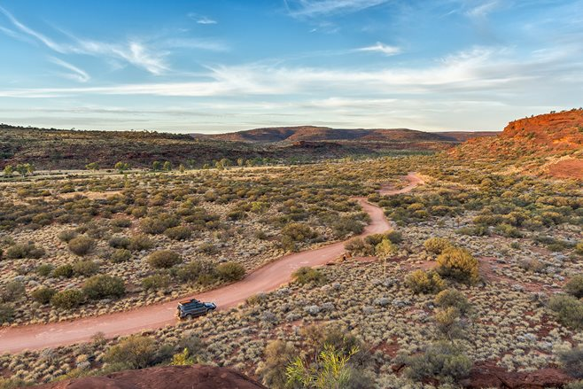The Northern Territory's Finke River Gorge is a special place on many travellers' bucket lists