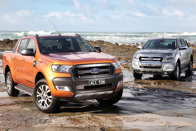 Ford has upgraded its popular Ranger ute with new style and tech for 2016