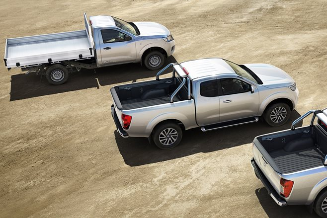 Nissan's NP300 Navara range now has King Cab and Single Cab versions in its ranks
