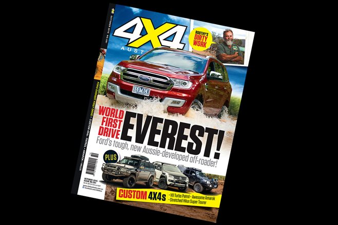 4X4 Australia October edition on shelves now