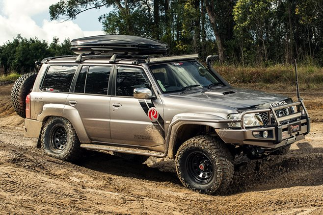 Nissan Patrol Gets V8 Military Might 4x4 Australia