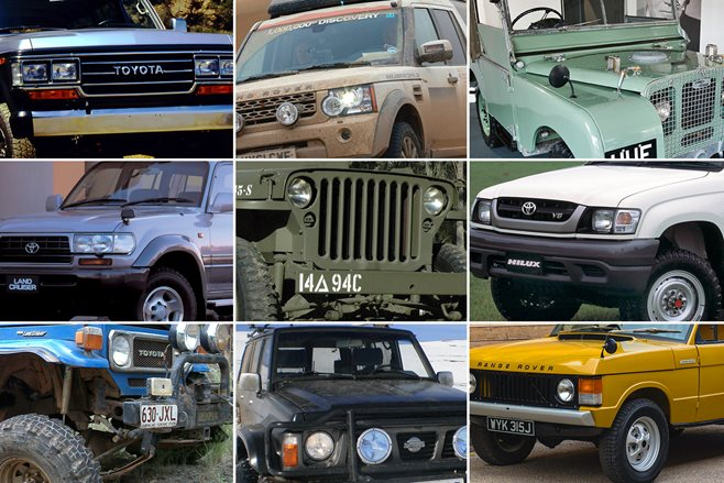 10 greatest 4x4's of all time