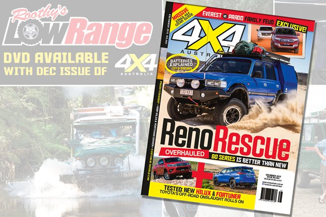 4X4 Australia December edition out now with bonus LowRange DVD