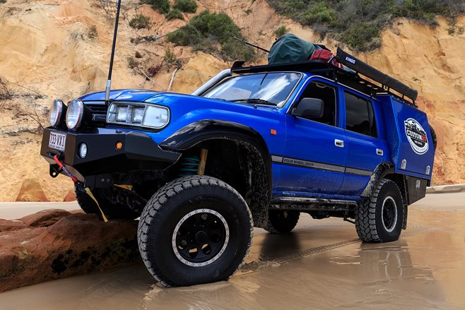 Custom 4x4: Toyota 80 Series Land Cruiser Dual Cab