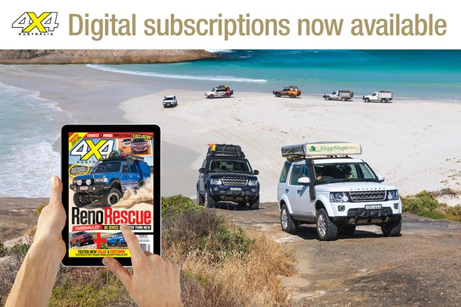 4x4 Australia Magazine goes Digital
