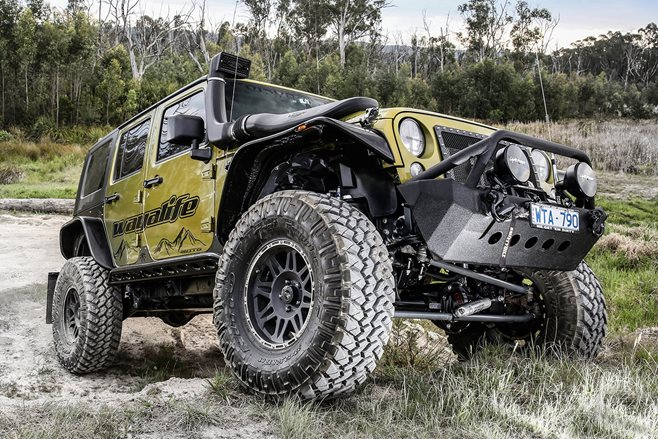 Custom 4x4: Jeep Wrangler Unlimited