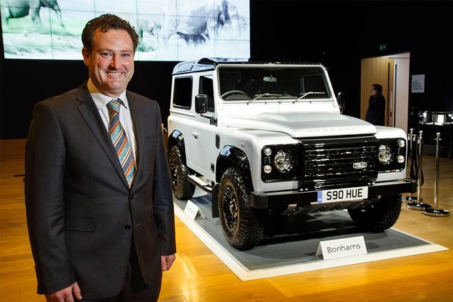 Record price for 2 millionth Land Rover