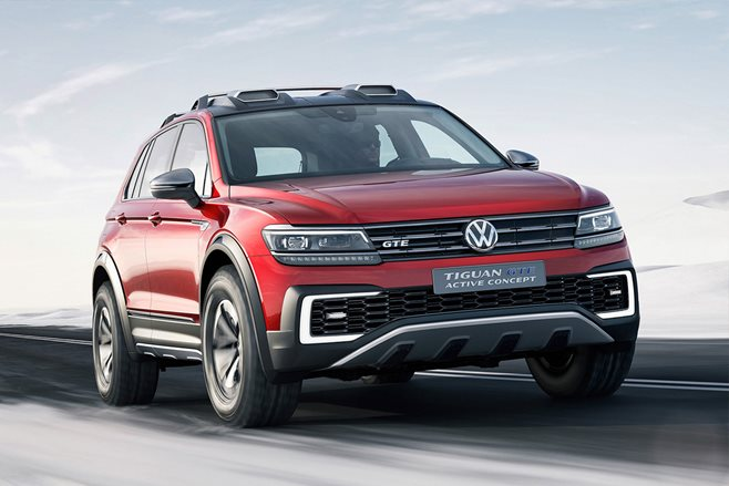 2017 Volkswagen Tiguan GTE Active Concept revealed