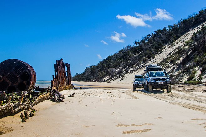 Exploring Moreton Island: Queensland