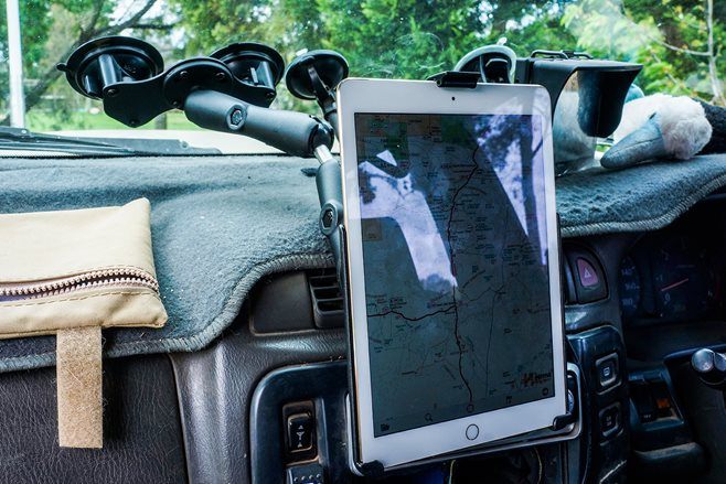 RAM iPad Mount product test