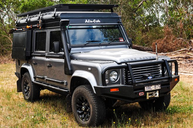 alu cab land rover product test 4x4 australia. Black Bedroom Furniture Sets. Home Design Ideas