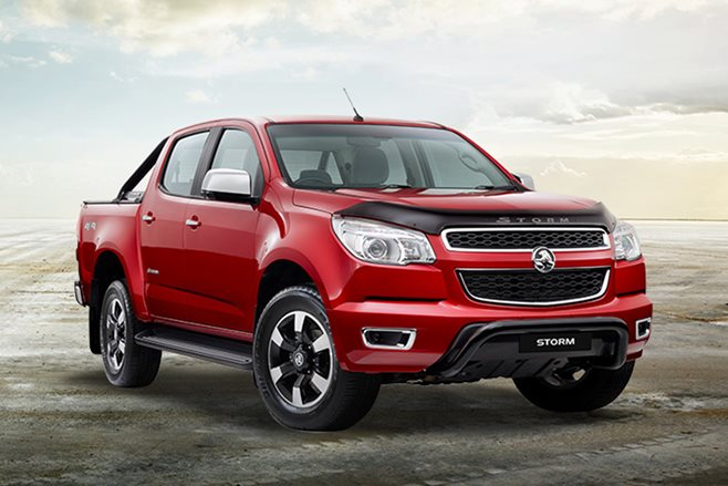 Holden releases Colorado 7 Trailblazer and Colorado Storm