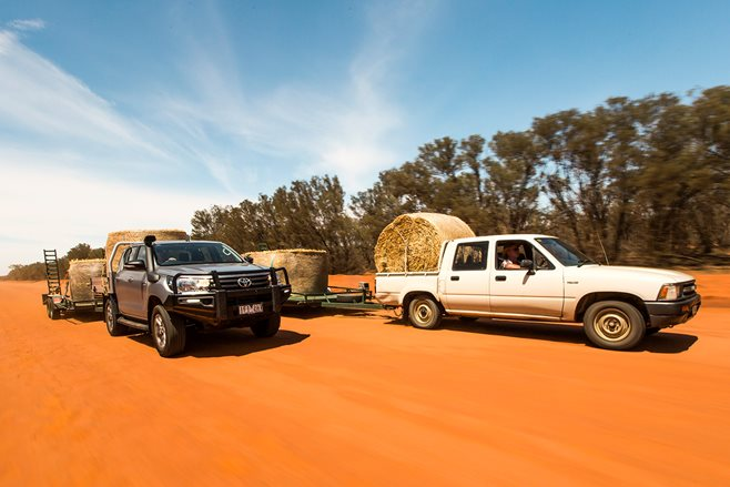 HiLux hay run: Queensland