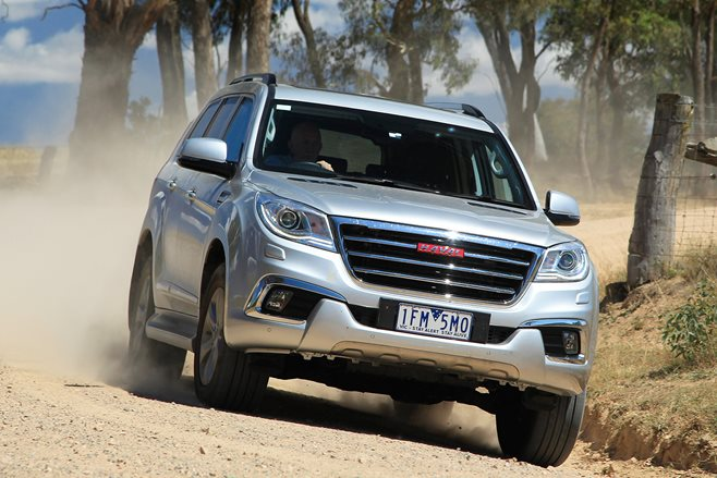Haval H9 fails to get five-star safety rating