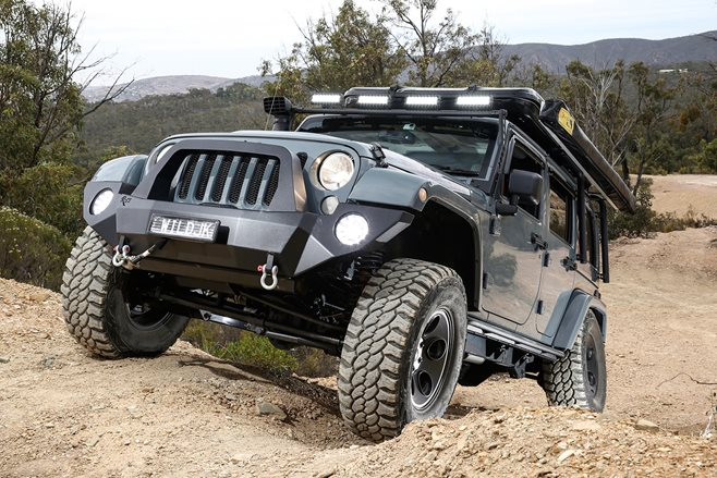 Custom 4x4: Jeep JK Wrangler Rubicon