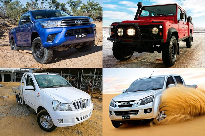 4X4 utes: What's on the 2016 market