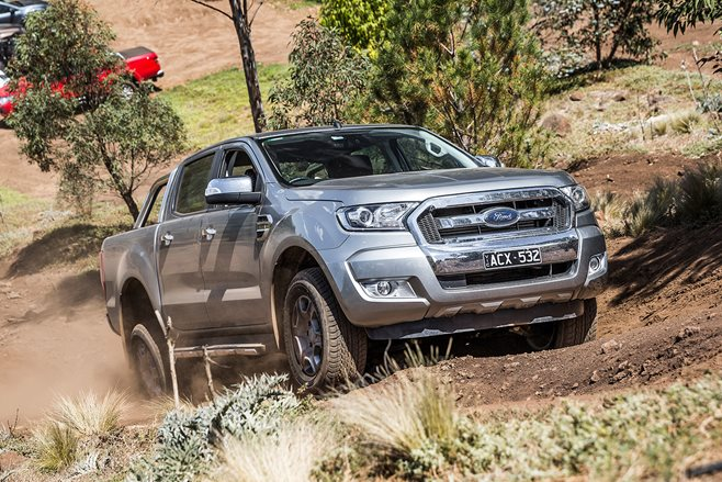 Ford Ranger tops June 4x4 sales charts