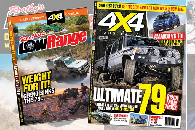 4X4 Australia August 2016 edition with bonus LowRange DVD