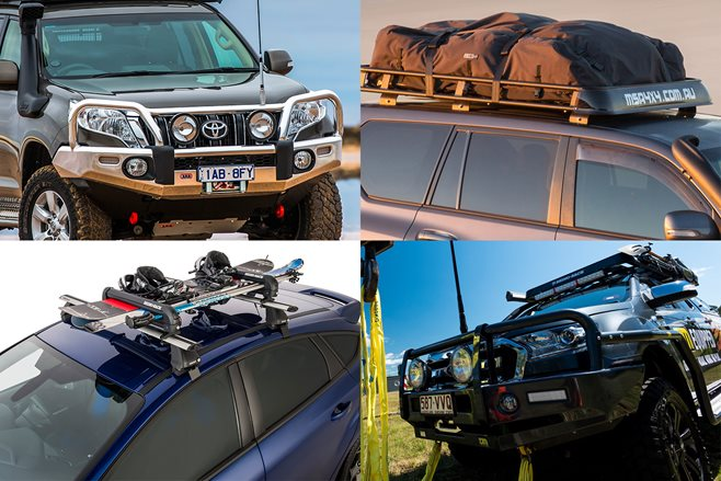 Latest storage & protection gear for your 4x4
