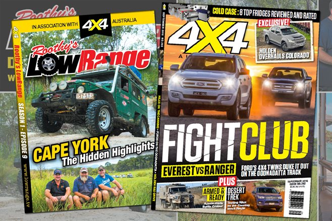 4X4 Australia September 2016 edition, with bonus LowRange DVD