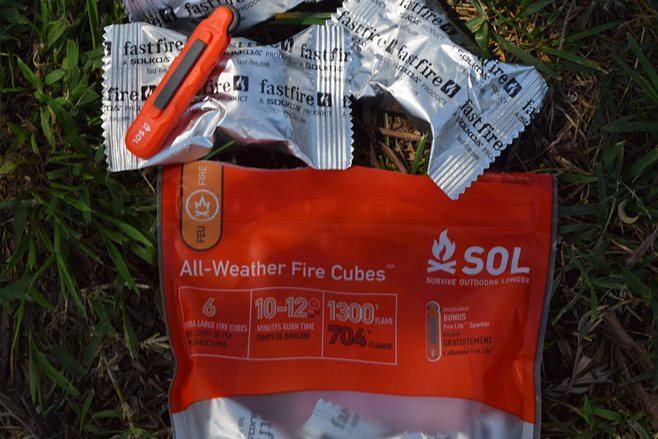 Sol all-weather fire cubes: Product test