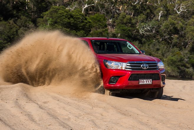 Toyota Hilux tops monthly 4x4 sales charts