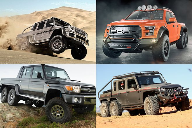 Six of the best 6X6s