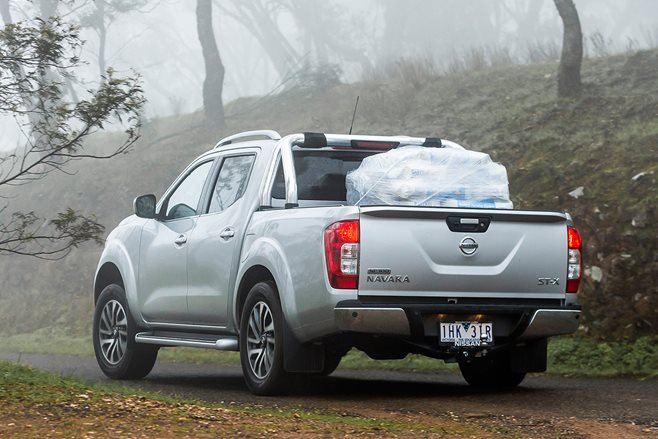 Nissan to address Navara suspension