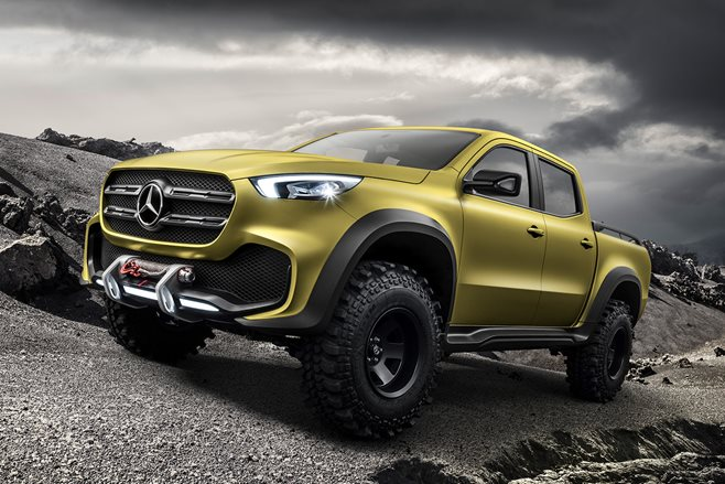 mercedes benz unveils x class pick up 4x4 australia. Black Bedroom Furniture Sets. Home Design Ideas