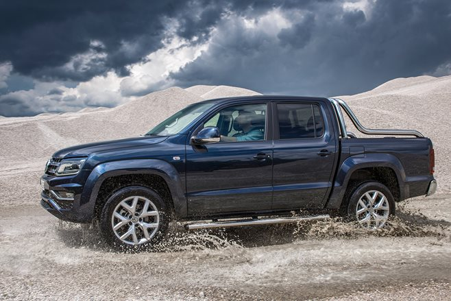 Volkswagen Amarok V6 Engine boosted