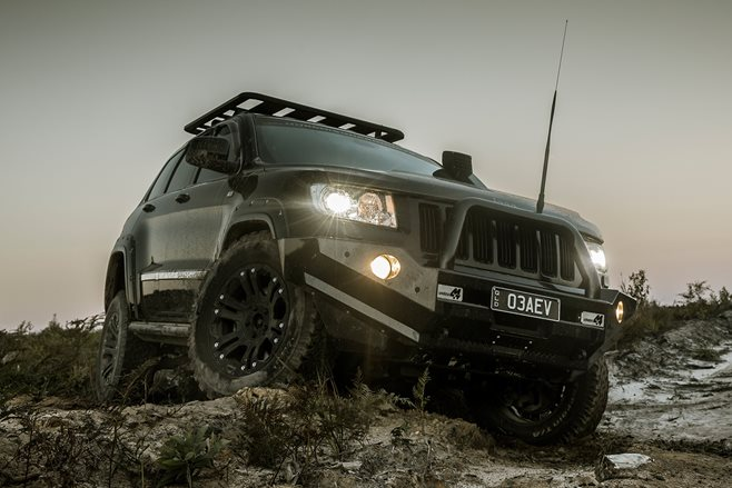 Jeep WK2 Grand Cherokee: Murchison Custom 4x4
