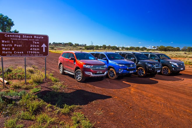 Toyota Prado vs Toyota Fortuner vs Isuzu MU-X vs Ford Everest