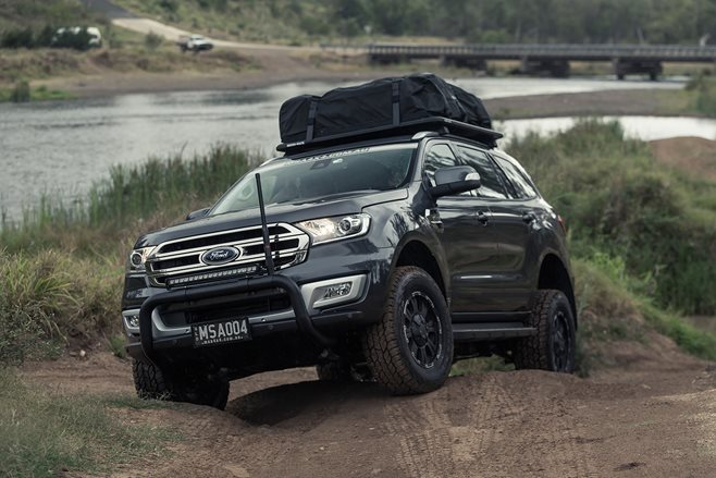 Ford Everest Car Or Off Roader 4x4 Australia