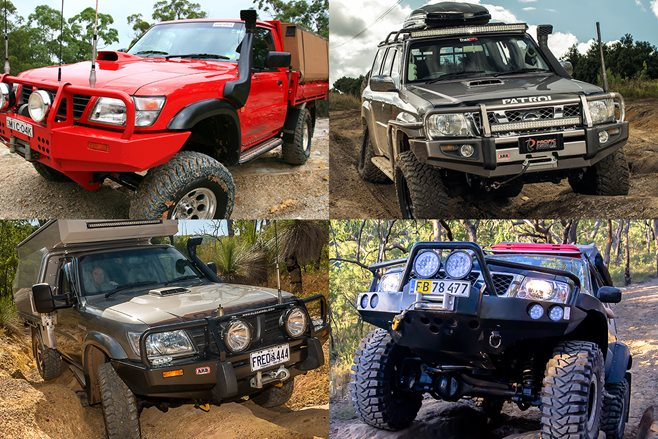 Top 5 Custom Nissan Patrols