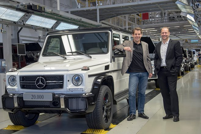 Mercedes-Benz producing 20,000th G-Class