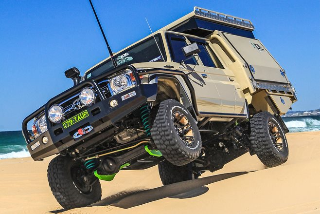 Custom Toyota LandCruiser 79 Double cab review