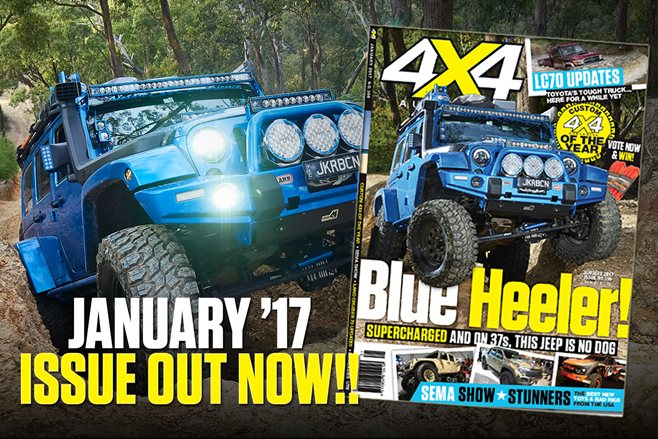 4X4 Australia: January 2017 issue out now!