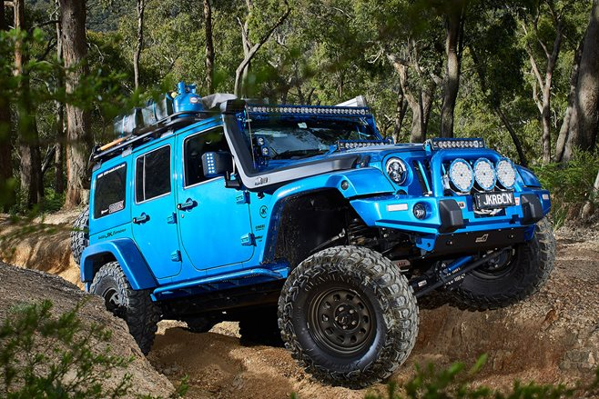 Custom Jeep Wrangler JKU Rubicon review