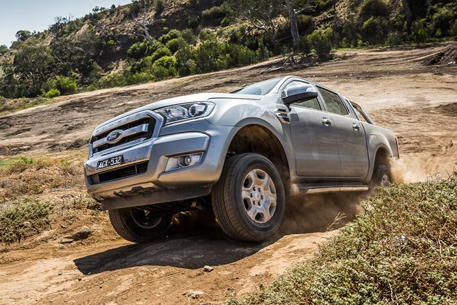 Ford Ranger tops January sales charts