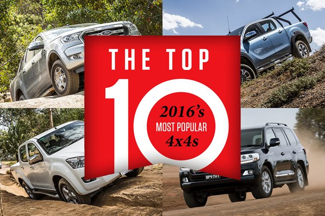 2016's most popular 4x4s: Top 10
