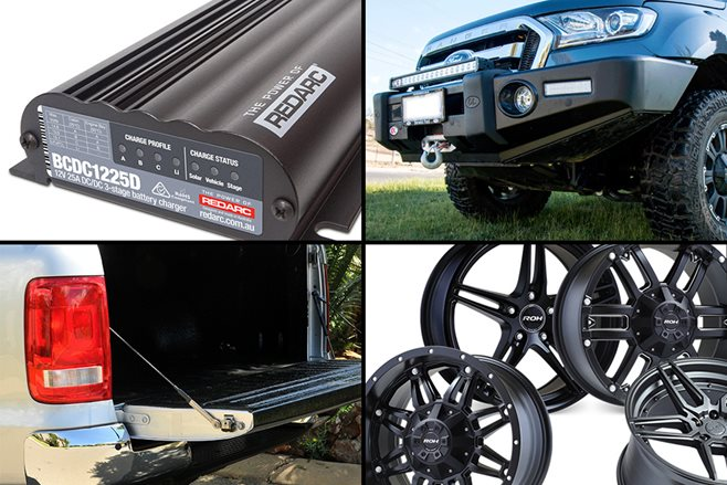 Latest gear for your 4x4: Alloys, bullbars and electronics