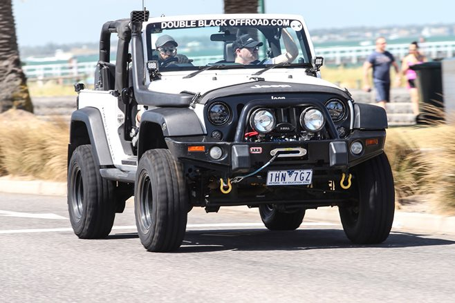 2017 Jeep Go Topless Day Double Black offroad 23
