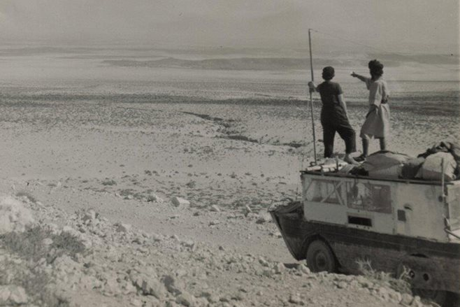 Amphibious Jeep around the world main