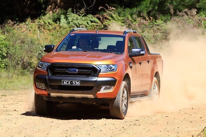 Ford Ranger driving main