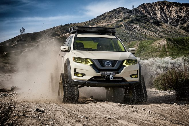 Nissan Rogue Trail Warrior main