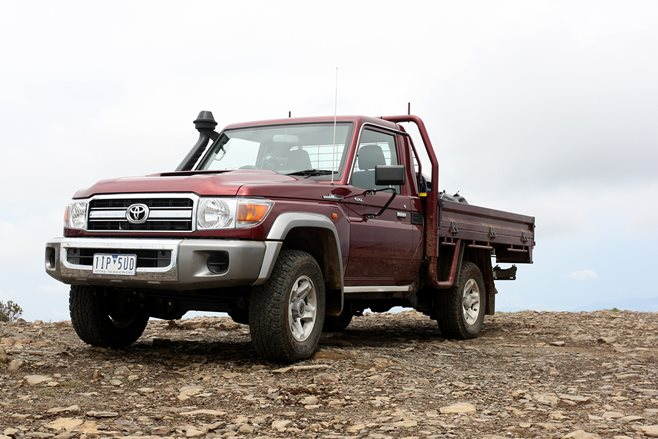 2017 Toyota Land Cruiser 79 GXL Single Cab