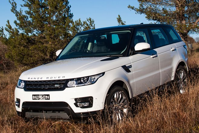 Range Rover Sport SD4 front