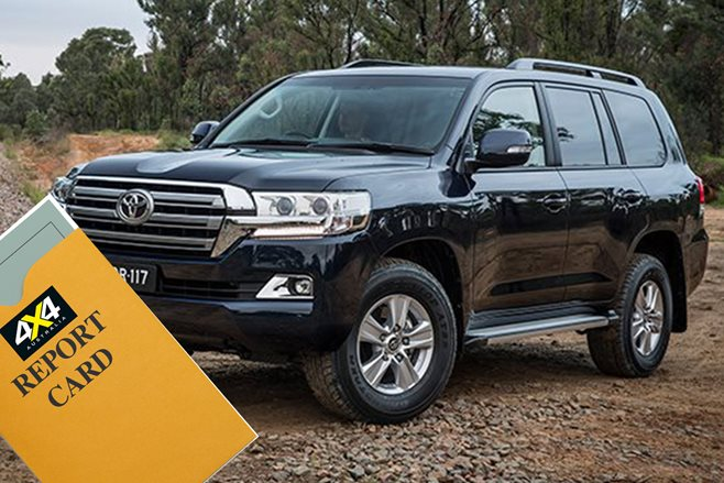Toyota LandCruiser 200 Series Report Card