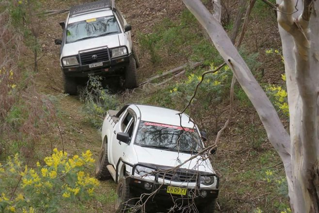 Central West 4WD Park offroading