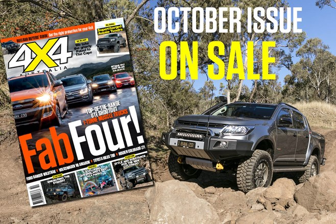4X4 AUSTRALIA OCTOBER ISSUE PREVIEW nw
